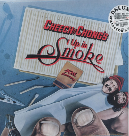 """Cheech & Chong - Up In Smoke - Deluxe Collector's Edition LP + 7"""" + CD + Blu-Ray"""