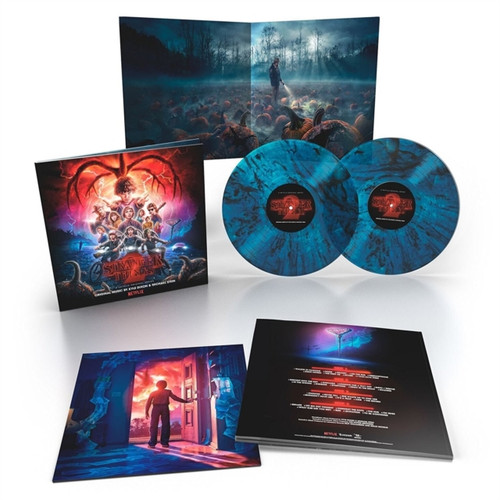 Stranger Things 2 (Kyle Dixon & Michael Stein) - Original Music - Interdimensional Blue 2xLP