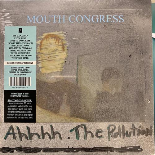 "Mouth Congress - Ahhhh The Pollution (Color Vinyl) - 7"" Vinyl RSD 2020 vinyl"