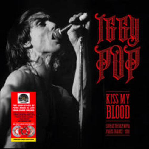 Iggy Pop - Kiss My Blood (Live In Paris 1991) (W/Dvd) - 3 x LP RSD 2020 vinyl