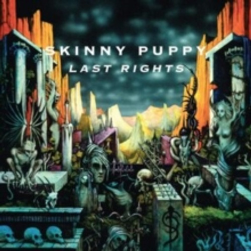 Skinny Puppy - Last Rights - LP