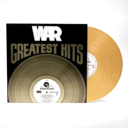 War - Greatest Hits (Gold Vinyl) - LP