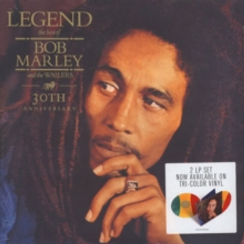 Bob Marley - Legend: The Best of Bob Marley and The Wailers 30th Anniversary - Tri-Color 2xLP