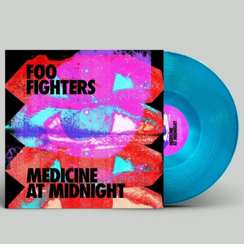 Foo Fighters - Medicine at Midnight -  Blue Vinyl Indie with Slip Mat
