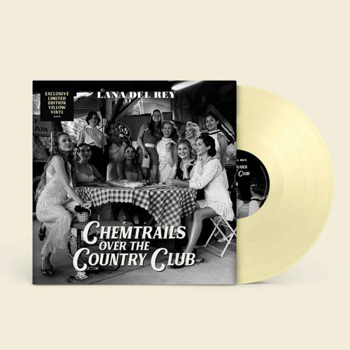 Lana Del Rey - Chemtrails Over the Country Club - Limited Yellow Vinyl - LP