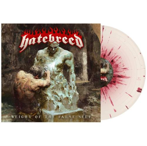 Hatebreed - Weight of the False Self - Bone with Blood Splatter Vinyl - LP
