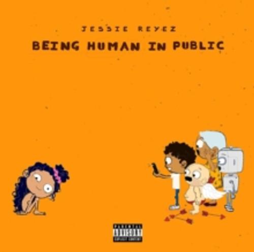 Jessie Reyez - BeiJessie Reyez - Being Human in Public/Kiddo - Orange & Red 2xLP Vinyng Human in Public/Kiddo - Orange & Red 2xLP Viny
