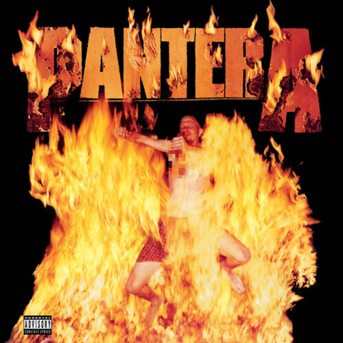 Pantera - Reinventing The Steel - Indie Exclusive Limited Edition Marbled Yellow Vinyl - LP