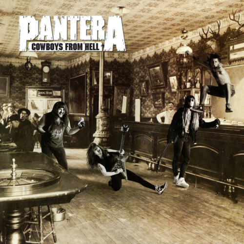 Pantera - Cowboys From Hell - Indie Exclusive Limited Edition Marbled Brown Vinyl - LP