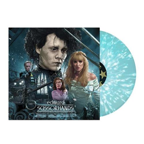 Edward Scissorhands OST - 30th Anniversary Deluxe 180g Ice Sculpture Blue Colored Vinyl - LP