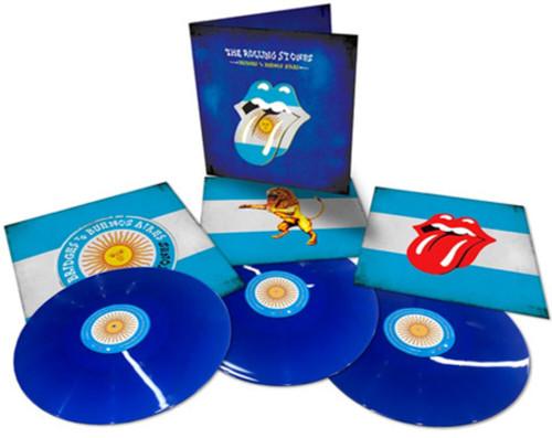 Rolling Stones - Bridges to Buenos Aires - 180g Blue Vinyl 3xLP