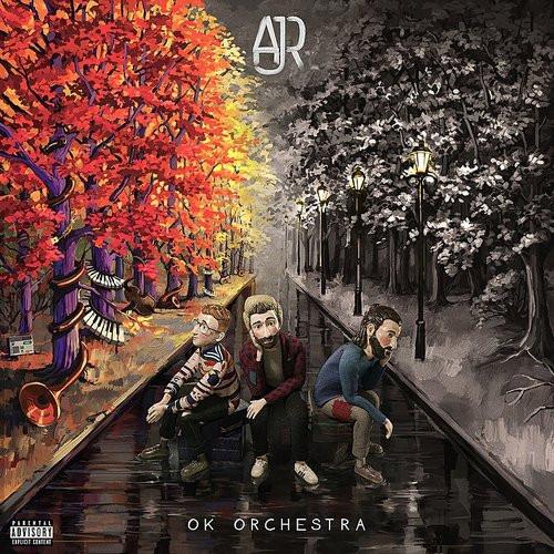 AJR - OK Orchestra - Indie Exclusive Orange Vinyl - LP