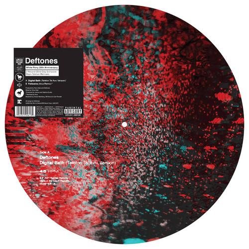 "Deftones - Digital Bath (Telefon Tel Aviv Version) / Feiticeira (Arca Remix) - 12"" Picture Disc Vinyl"