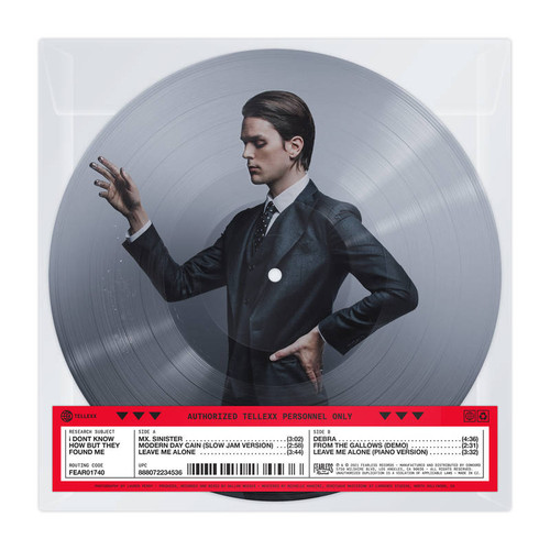 """I DON'T KNOW HOW BUT THEY FOUND ME - RAZZMATAZZ (B-Sides) - 10"""" Picture Disc"""