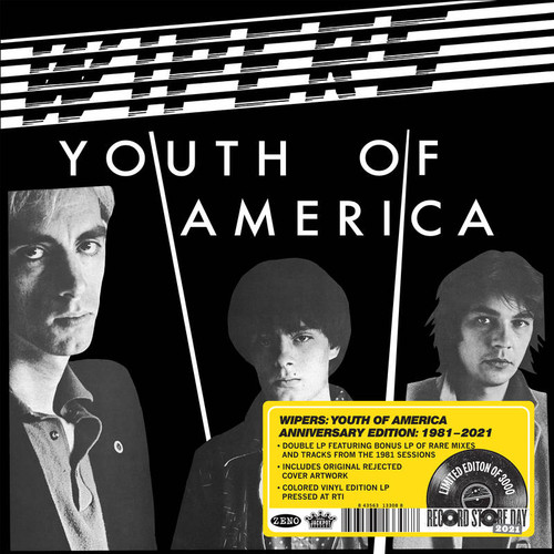 Wipers - Youth of America -- Anniversary Edition - 2xLP