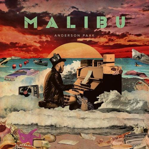 Anderson .Paak - Malibu - RSD Essentials Orange w/ White Splatter Vinyl - 2xLP
