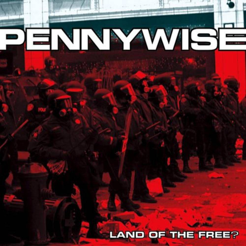 Pennywise - Land Of The Free - Red Vinyl - LP
