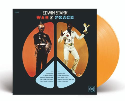 Edwin Starr - War & Peace - Indie Exclusive Orange Vinyl - LP