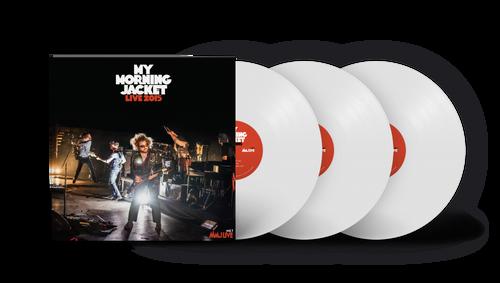 My Morning Jacket - Live 2015 - White Vinyl - 3xLP
