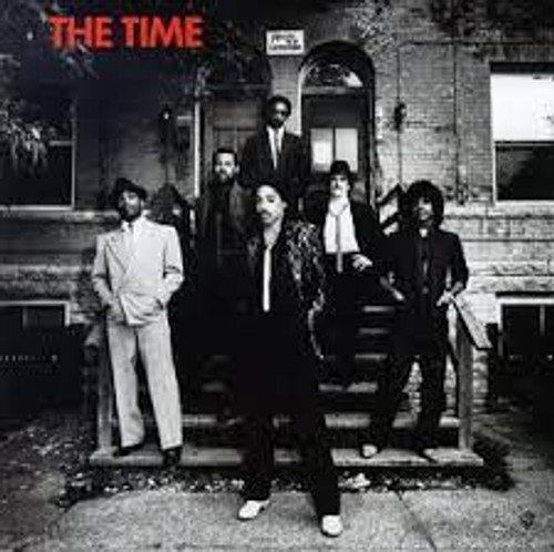 The Time - S/T - Limited Red & White Vinyl - LP