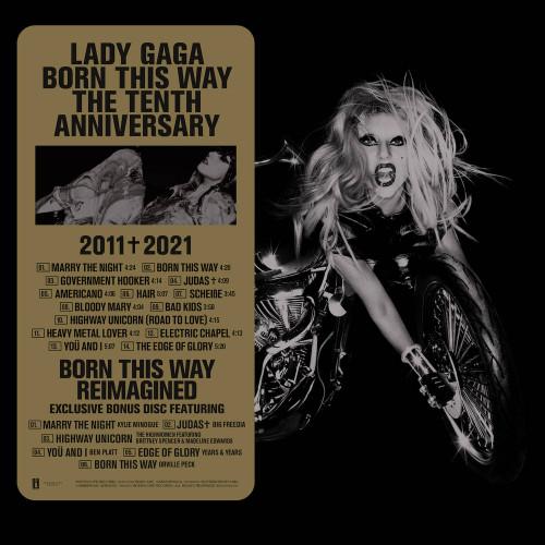 Lady Gaga - Born This Way - Tenth Anniversary Edition - 3xLP