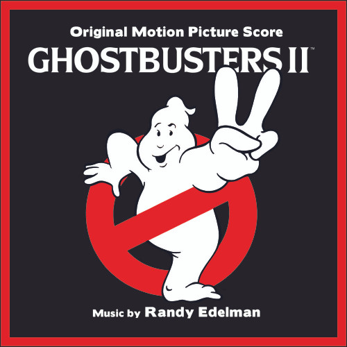 Ghostbusters II (Original Motion Picture Soundtrack) - Clear With Pink Slime Vinyl - LP