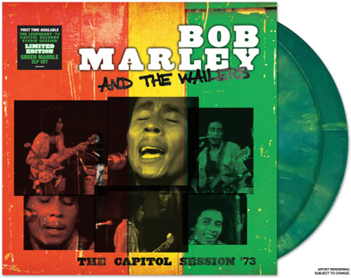 Boy Marley & the Wailers - The Capitol Session '73 - Green Vinyl - 2xLP