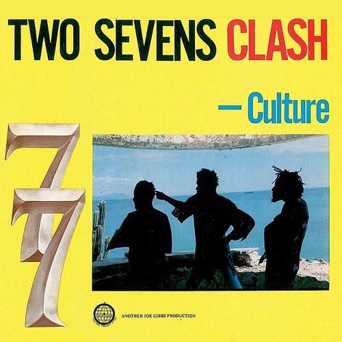 Culture - Two Sevens Clash - RSD Essential Clear w/ Blue & Yellow Smoke Vinyl - LP