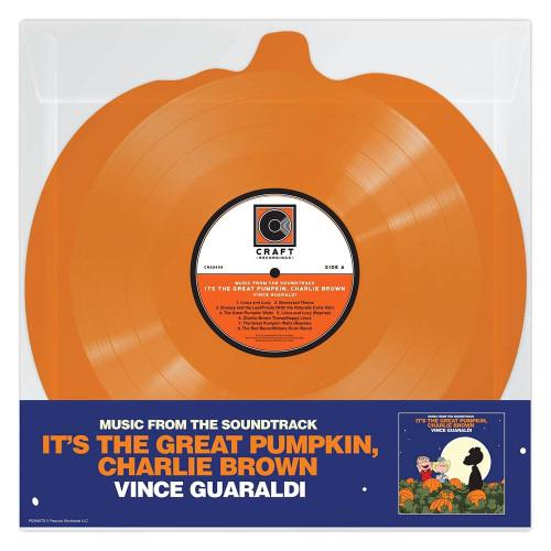 Vince Guaraldi - It's The Great Pumpkin, Charlie Brown - Orange Pumpkin-Shaped Vinyl - LP