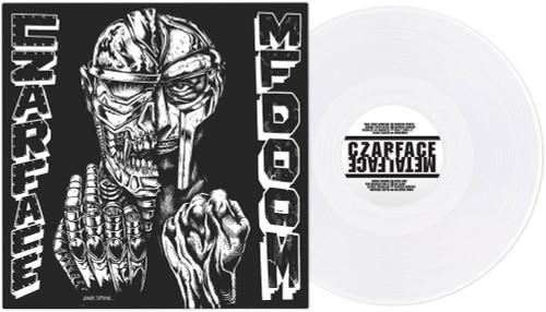 Czarface & MF Doom - Czarface Meets Metal Face - RSD Essential Indie Colorway White Vinyl - LP