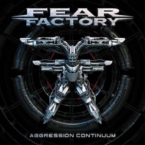 Fear Factory - Aggression Continuum - Black Blue w/ White Splatter Vinyl - 2xLP