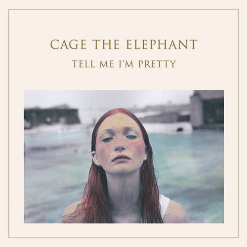 Cage the Elephant - Tell Me I'm Pretty - RSD Essential Clear with White & Blue Smoky Swirls Vinyl - LP