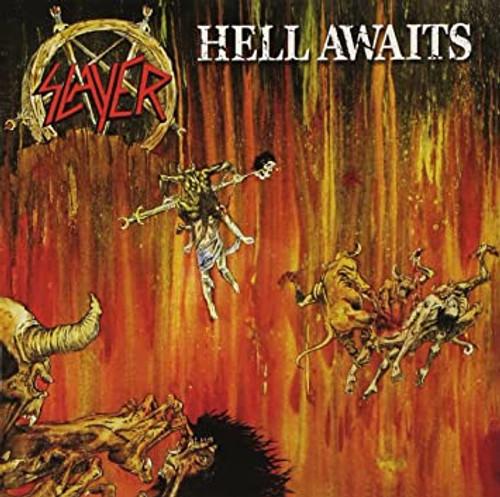 Slayer - Hell Awaits - Transparent Orange/Black Split Vinyl - LP