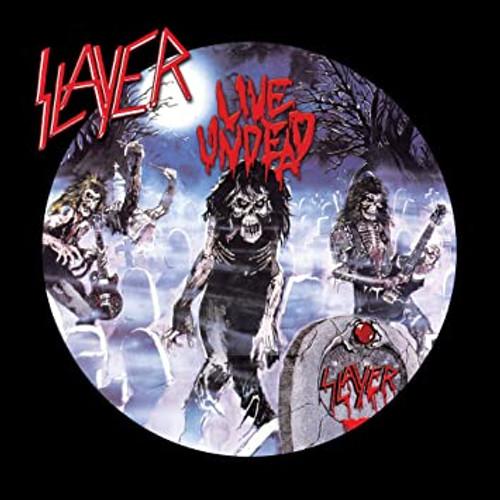 Slayer - Live Undead - Midnight Blue/Black Split Vinyl - LP