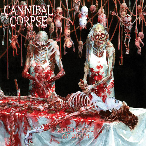 Cannibal Corpse - Butchered at Birth - Clear Smoke Vinyl - LP