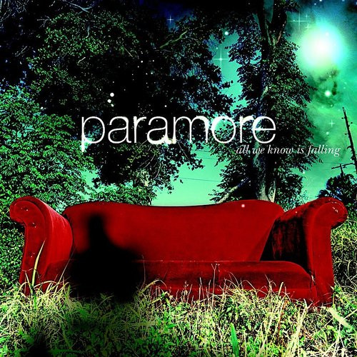 Paramore - All We Know Is Falling - FBR25 Silver Vinyl - LP