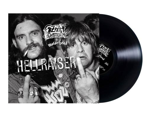 "Ozzy Osbourne + Motorhead - Hellraiser  - 10"" Single"