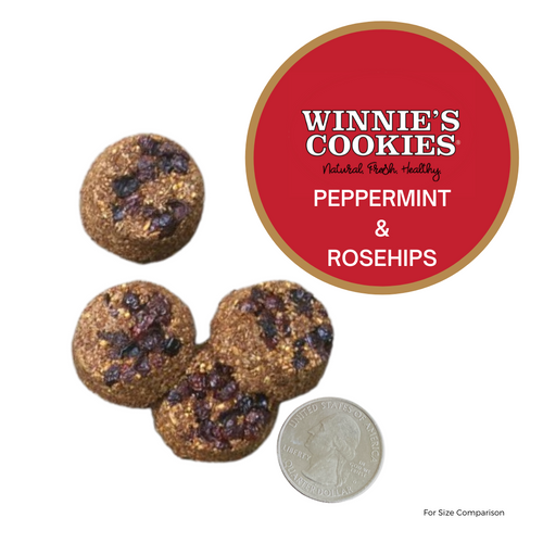 Winnie's Peppermint and Rosehips Cookies
