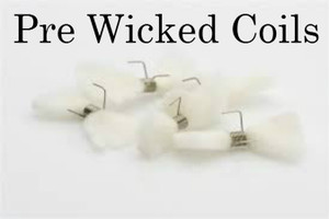 Pre Built, Pre Wicked, Nichrome Coils (2 Pack)