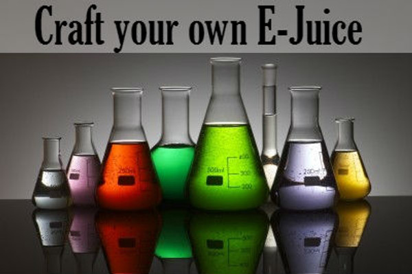 Craft your own E-Juice
