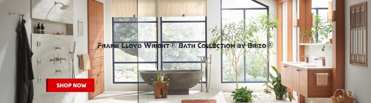 Frank Lloyd Wright® Bath Collection by Brizo®