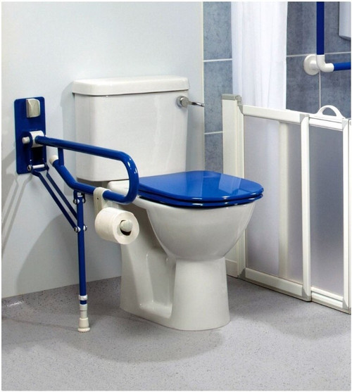 ARC ARC GB1831-BU Fold-Up Support, Adjustable Leg - Blue