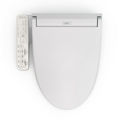 Toto TOTO WASHLET C2 Electronic Bidet Toilet Seat with PREMIST and EWATER Wand Cleaning, Elongated, SW3074