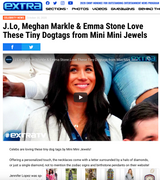 ExtraTV: Celebs are loving these tiny dog tags by Mini Mini Jewels!
