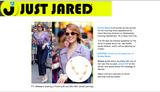 Emma Stone Wearing her Mini Mini Jewels Triple Star Ear Crawler in New York City