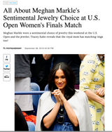 All About Meghan Markle's Sentimental Jewelry