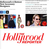 Mini Mini Jewels Featured in Hollywood Reporter  2018 Red Carpet Designers Issue