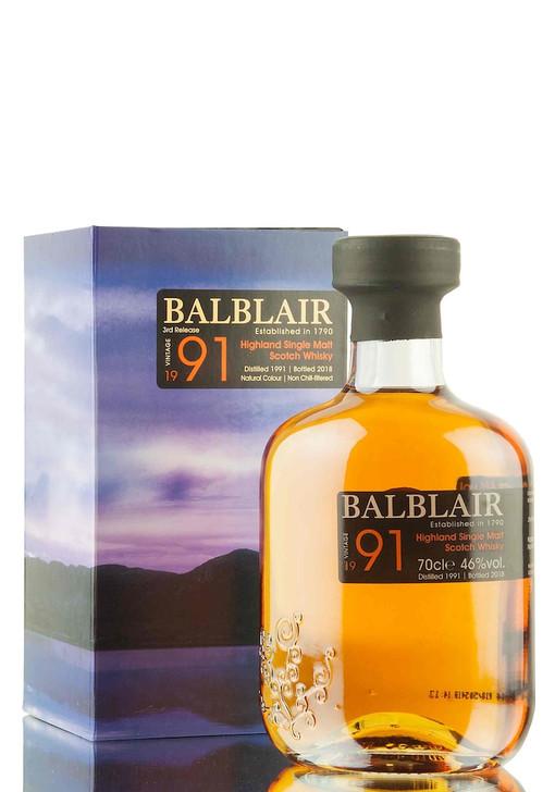 Balblair 1991 Single Malt Whisky