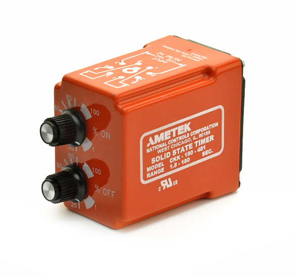 Industrial Time Delay Relay, Repeat Cycle CKK Series
