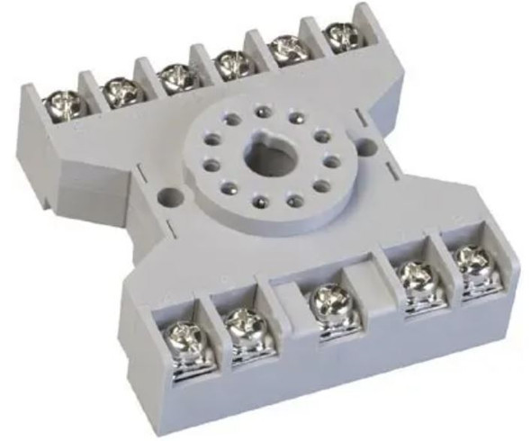 Relay Socket 11 pin Octal 3 pole